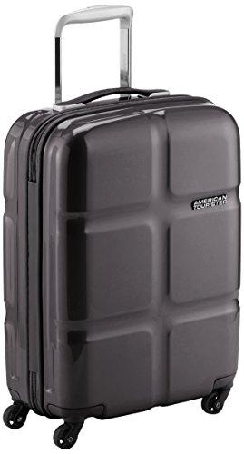 American Tourister Koffer, 55 cm, 30 L, Schwarz - nur 2,5kg Gewicht