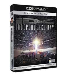 Independence Day​ (4K Blu-ray + Blu-ray + Bonus Blu-ray) für 13,64€ (Amazon.it)