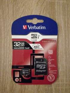 [REWE Center in Griesheim] Verbatim Flash?Speicherkarte ? 32 GB microSDHC ? Class 10