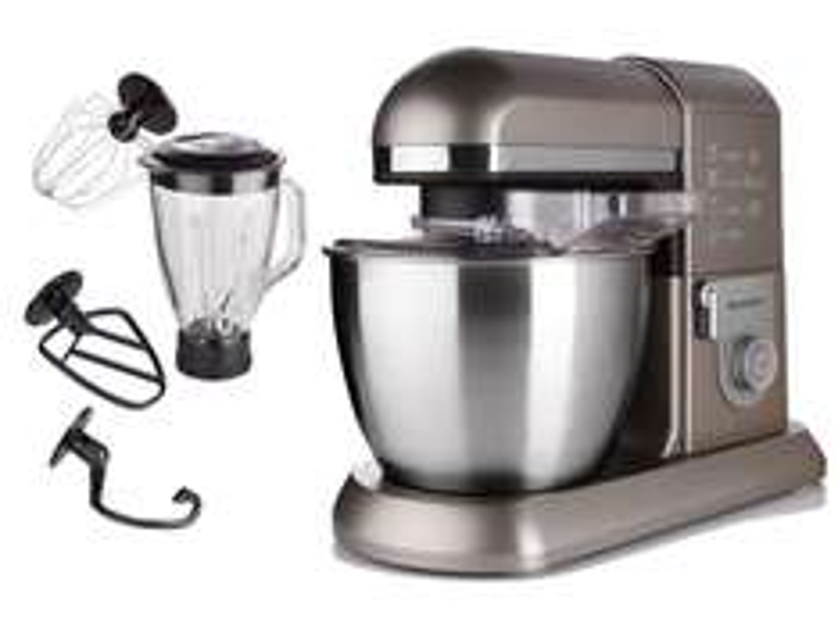 SILVERCREST Profi-Küchenmaschine SKMP 1300 B3 - 1300 Watt