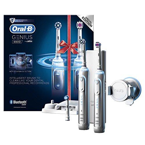 [Amazon] Oral-B Genius 8900 Elektrische Zahnbürste mit 2tem Handstücke
