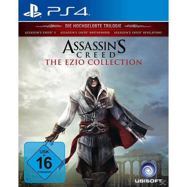 [ Offline Expert Technikmarkt und Technomarkt Filialen] Assassin's Creed: The Ezio Collection (PS4) für 29€. MIT Versand 32,99€**Update..Auch bei Expert-Bening
