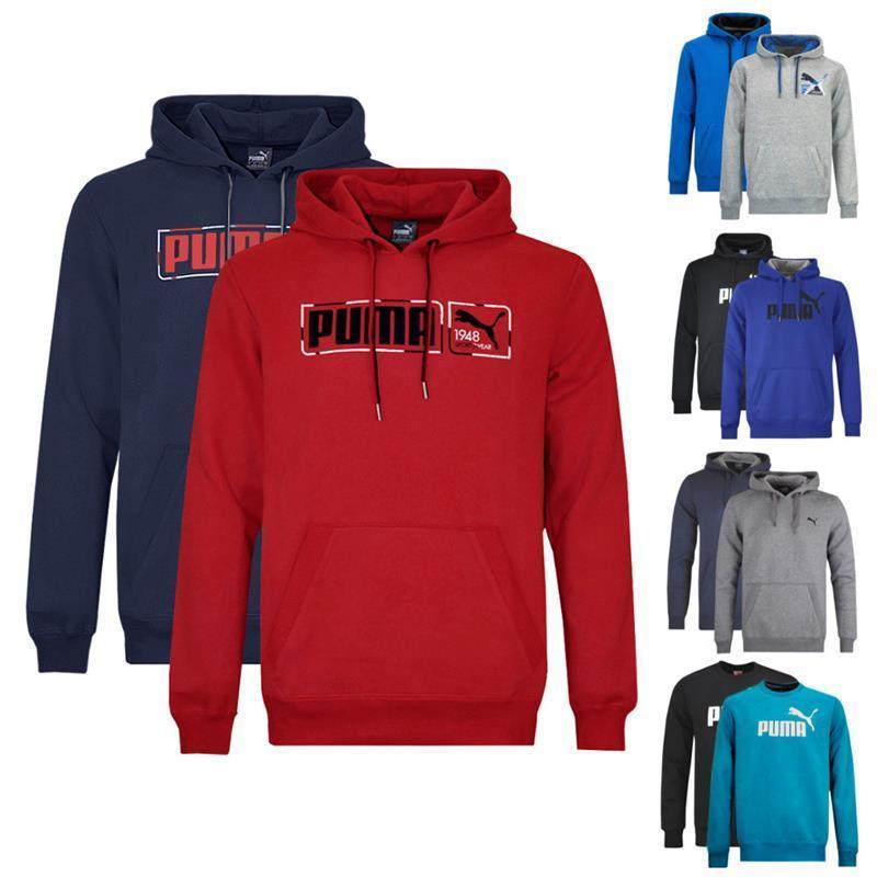 Puma Herren Kapuzensweatshirt Sweatshirt versch. Modelle und Farben mit Big und Small Logo für 26,95€ Inkl. VSK (eBay.de)