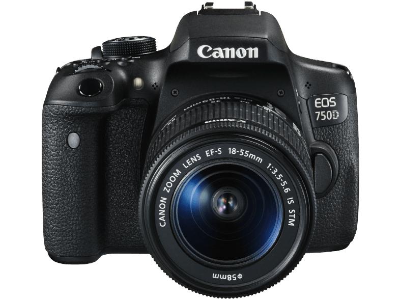 [Media Markt] CANON EOS 750D 24.2 Megapixel mit Objektiv 18-55 mm für nur 513 € !!!