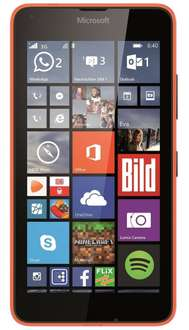 Microsoft Lumia 640 XL orange 3G Single Sim + 10€ PAYDIREKT2016 Gutschein = 89 Euro