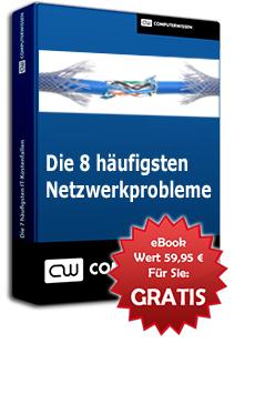 """Gratis E-Book: """"Die 8 häufigsten Netzwerkprobleme lösen"""""""