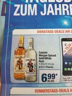 (lokal)  Metro   Captain Morgan Spiced Gold/White