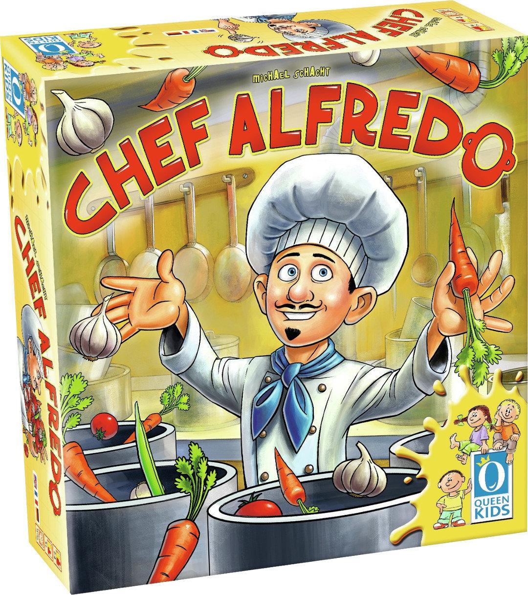 Queen Games 50041 - Brettspiel - Chef Alfredo für aktuell 10,66€ [amazon prime] bzw. 12,45€ ohne prime und Buchtrick möglich