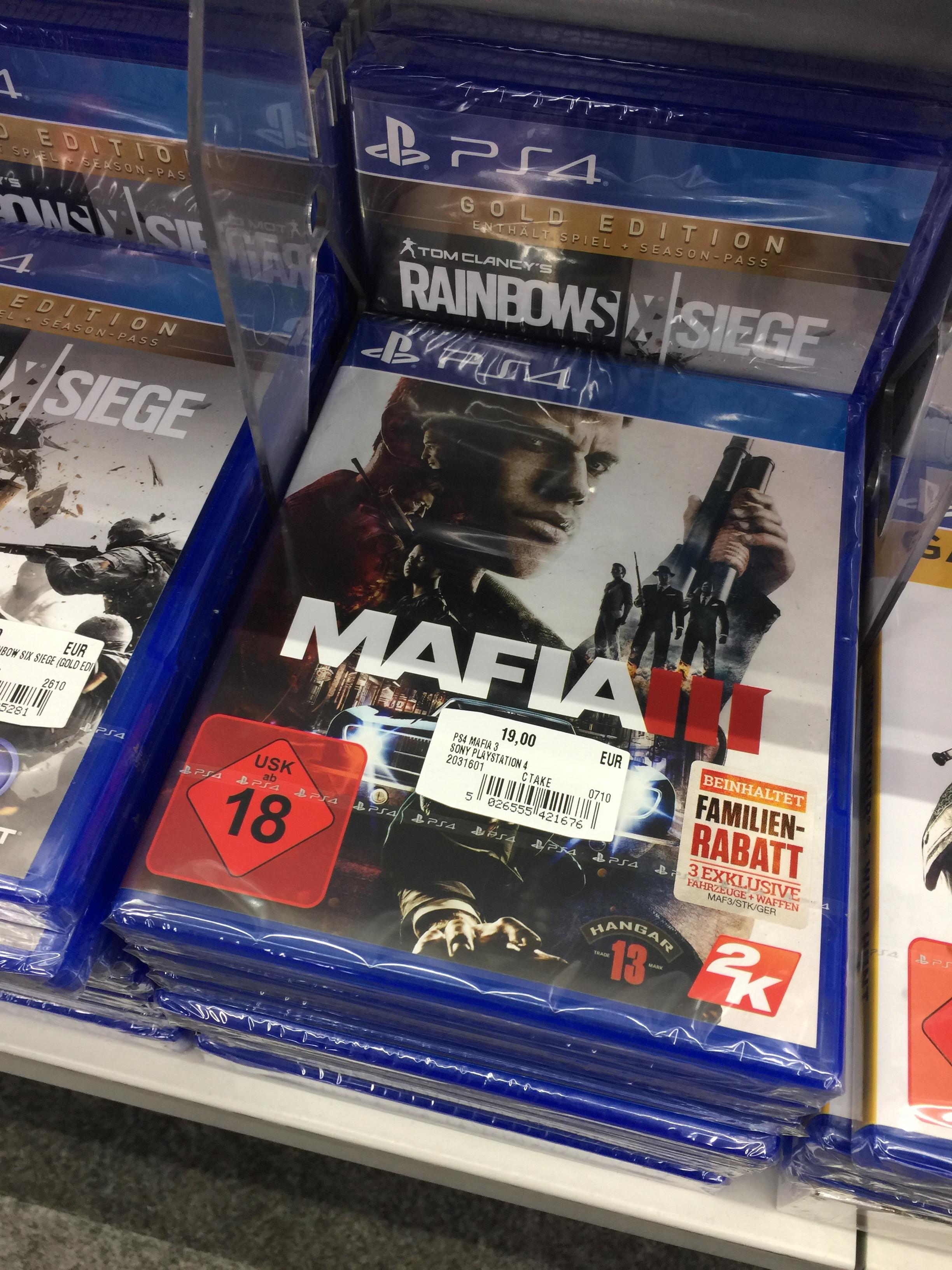 Mafia 3, PS4, Media Markt, München Pasing für 19,00 Euro