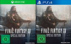 [Mediamarkt GDD] Final Fantasy XV (Limited Steelbook Edition) (PlayStation 4 und Xbox One) für je 45,-€ Versandkostenfrei◄