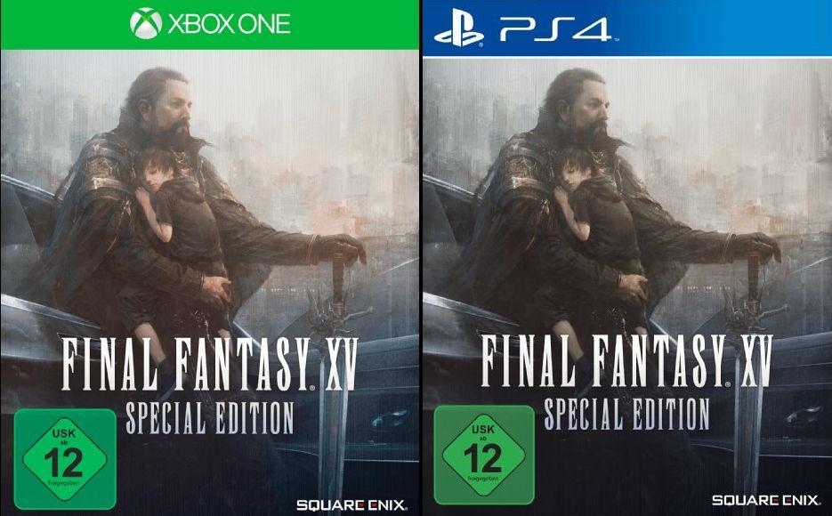 [Mediamarkt GDD] Final Fantasy XV (Limited Steelbook Edition) (PlayStation 4 und Xbox One) für je 45,-€ Versandkostenfrei?