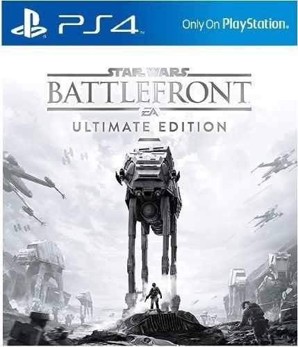 STAR WARS Battlefront Ultimate Edition ( inkl. Season Pass) für PS4  für ca. 14,95€ ( PSN Store Asia)