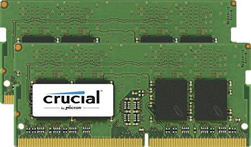 Crucial DDR4-SoDIMM, 2 x 16 GB, 2133 MHz [Amazon.it]