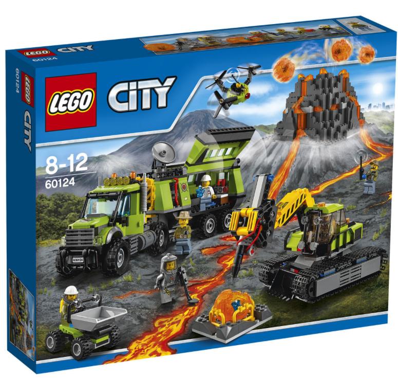 20% auf Lego, z.B.  LEGO City 60124 Vulkan-Forscherstation für 63,99€ bei [Karstadt]