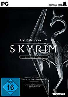 [Amazon] The Elder Scrolls V: Skyrim Special Edition [PC] [Code in the Box] 19,49€ (Prime)