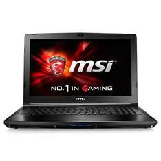 "MSI GL62-6QFAC16H21, Notebook i7-6700HQ 15,6"" matt FHD 16GB 1TB+256GB SSD [eBay WOW redcoon]"