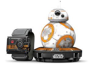Sphero BB-8 Special Edition, Spielzeugroboter + Force Band weiß-orange WoW ebay