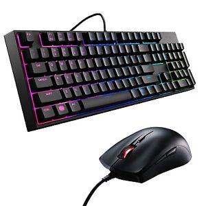 Wieder da / Cooler Master Gaming-Bundle Masterkeys Lite L Combo / Tastatur + Maus