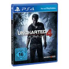 [online] Uncharted 4 für PS4 20€ @real onlineshop