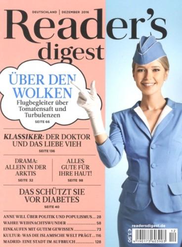 Reader's Digest für effektiv 15,40€ durch 30€ hohen Universal Gutschein von Bestchoice + Januar Ausgabe kostenlos und unverbindlich DIGITAL
