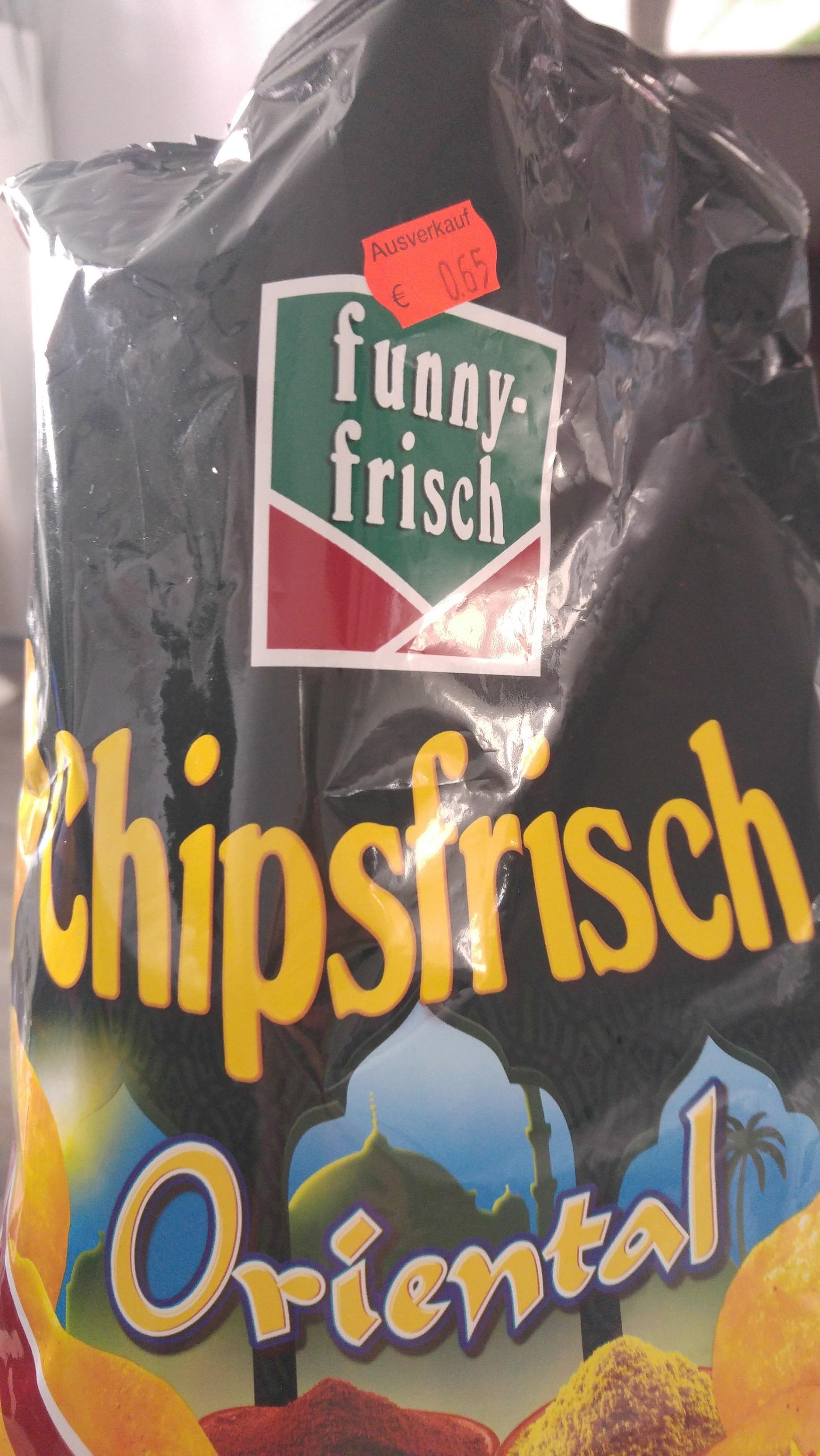 (Rossmann) Funny Chips Oriental im Ausverkauf