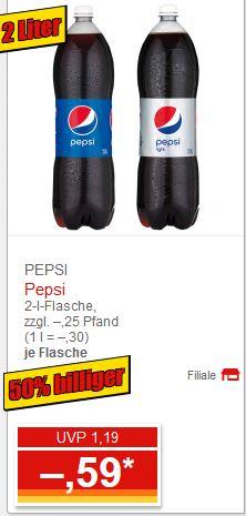 [Norma] Pepsi in der 2,00 Liter PET Flasche - Deutschlandweit