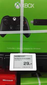 (Saturn HH) Microsoft XBOX One Controller + Wireless Adapter für Windows