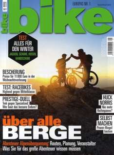 BIKE Magazin für eff. 14,48€ im Jahr durch 10€ Rabatt und 30€ BestChoice-Gutschein