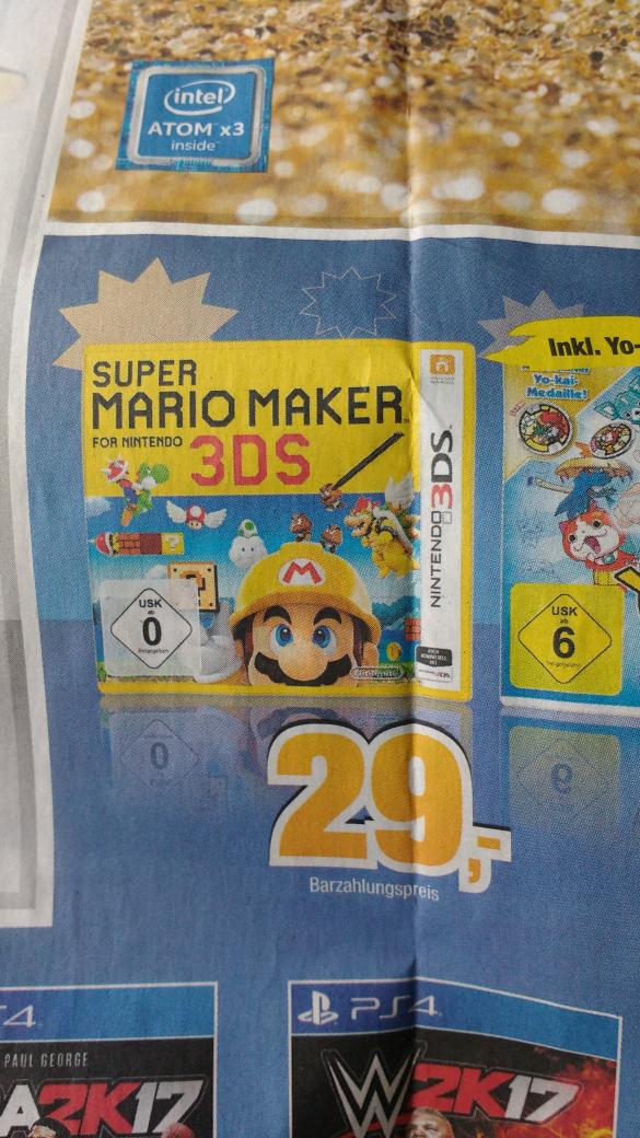 Super Mario Maker (3DS) für 29 EUR @ Expert Bening