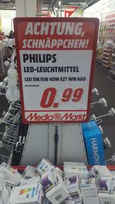 Philips LED Leuchtmittel lokal Berlin MM