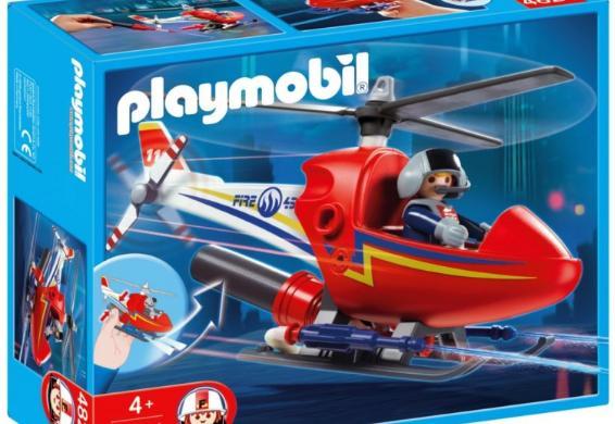 [@Dealclub] Playmobil Löschhubschrauber 4824 (+3% shoop cashback)