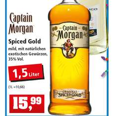 Captain Morgan Spiced Gold 1,5 Liter nur 15,99€ bei [Philipps]