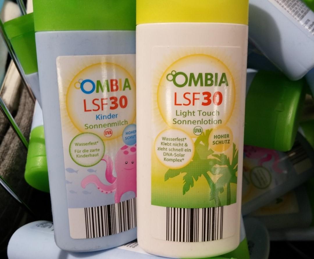 [lokal karlsruhe] Aldi Süd Ombia Sonnenlotion (Sonnencreme) LSF 30 in 50ml Flasche