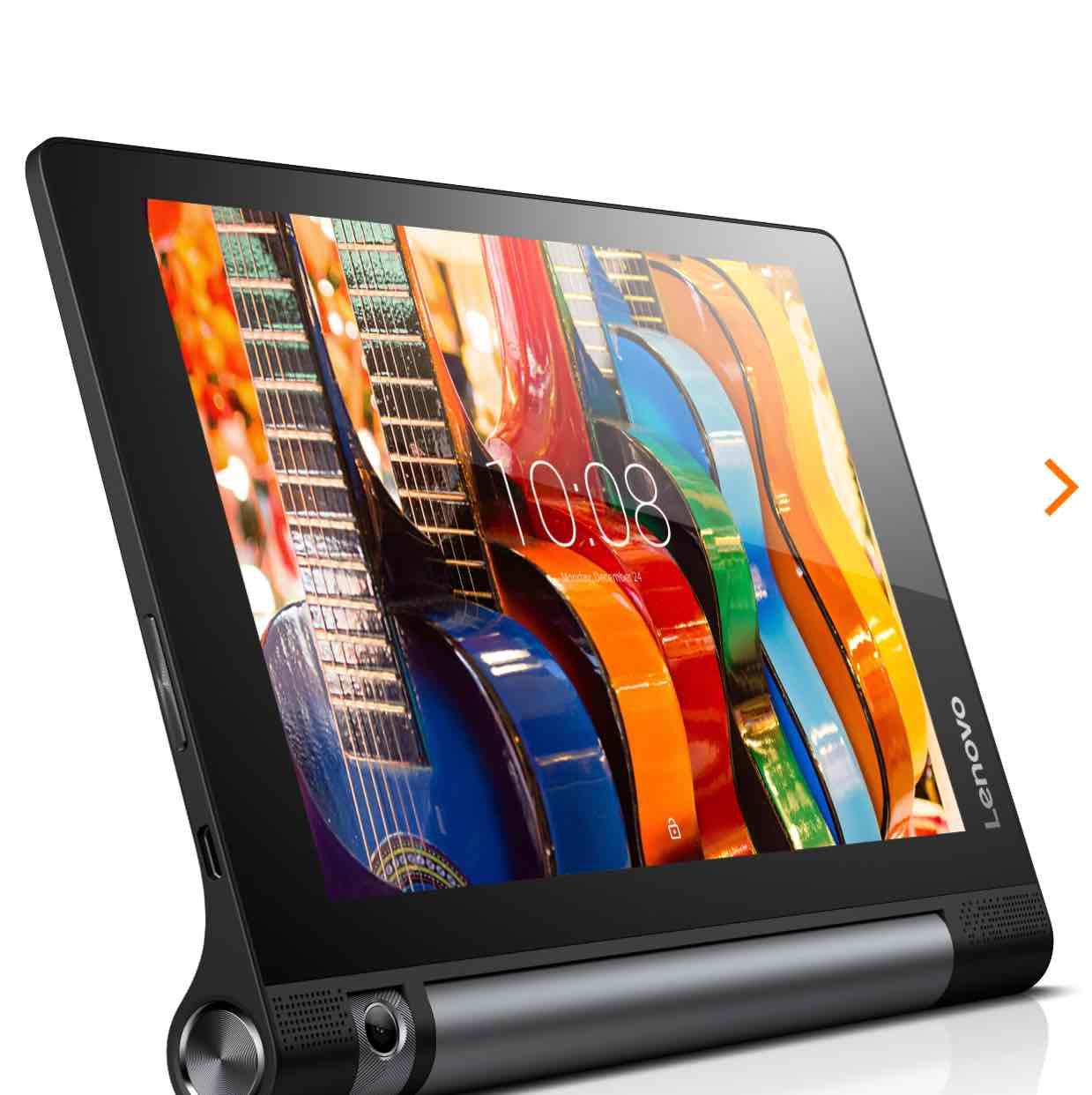 "Lenovo YOGA TAB 3-850L 8"" HD IPS-Display, Quad-Core, 2GB RAM, 16GB Flash, LTE, Android 5.1"