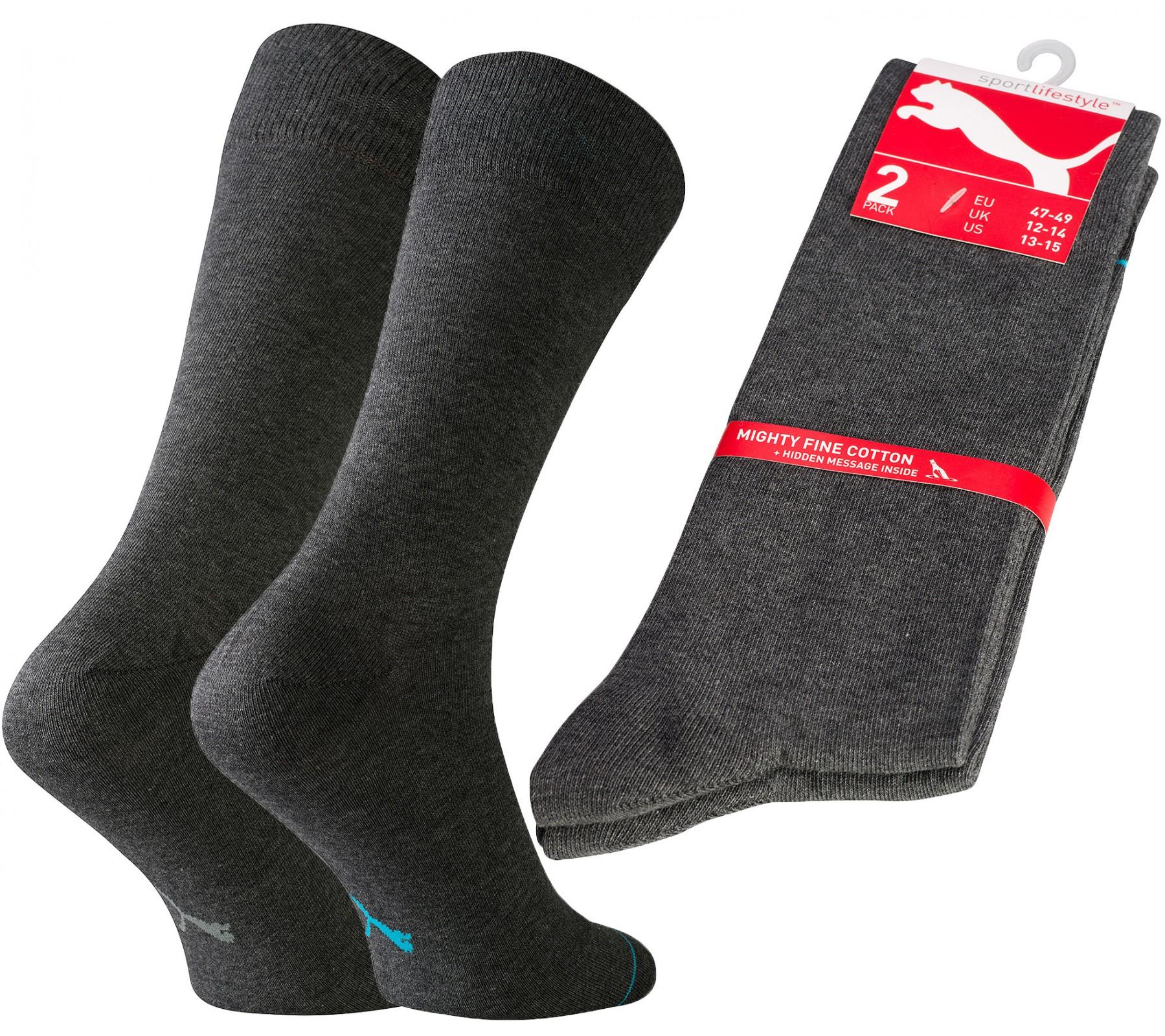 2er Pack PUMA Fortune Socken Gr. 47-49