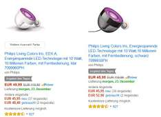 [Amazon Tagesangebot] Philips Living Colors Iris - ,,klar'' oder ,,schwarz''
