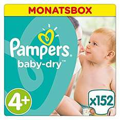 [Amazon Prime] Pampers Baby Dry 4+ PVG 35.58€