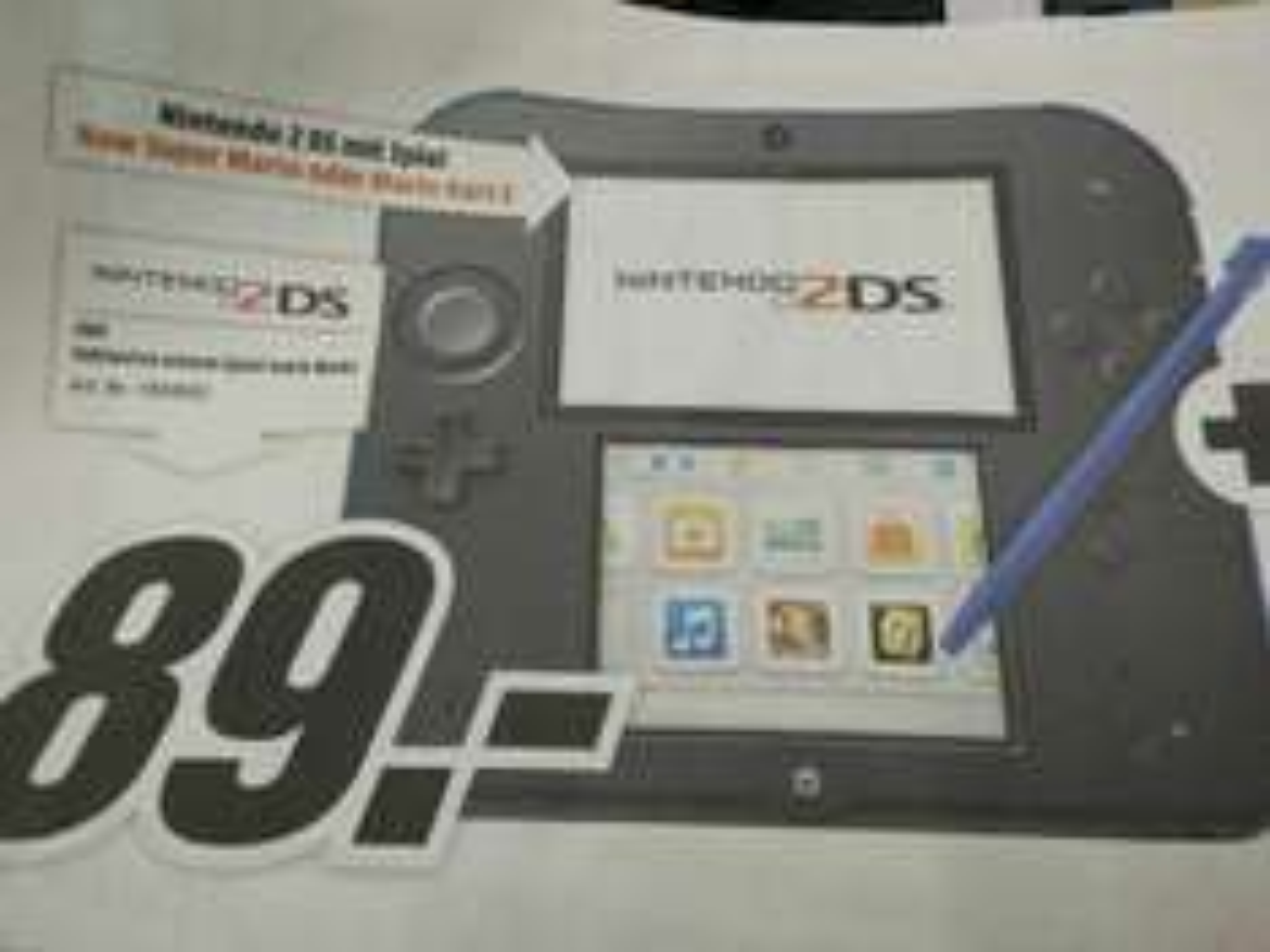 [Lokal Koblenz / Neuwied] Nintendo 2DS inkl. New Super Mario Bros 2 oder Mario Kart 7