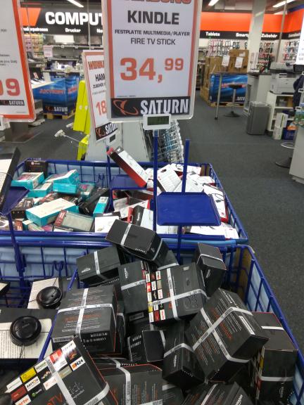 [Saturn Hanau evtl. bundesweit] Amazon Fire TV Stick für 34,99€