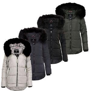 Marikoo Damen warme Winterjacke 30% Rabatt