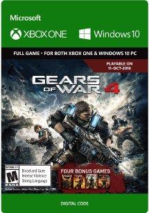 Gears of War 4 (XBOX ONE/PC) inkl. der 4 vorigen Teile für knapp 29,- €