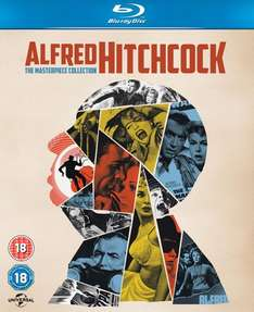 (Zavvi) Alfred Hitchcock Masterpiece Collection (14x Blu-ray) für 21,59€