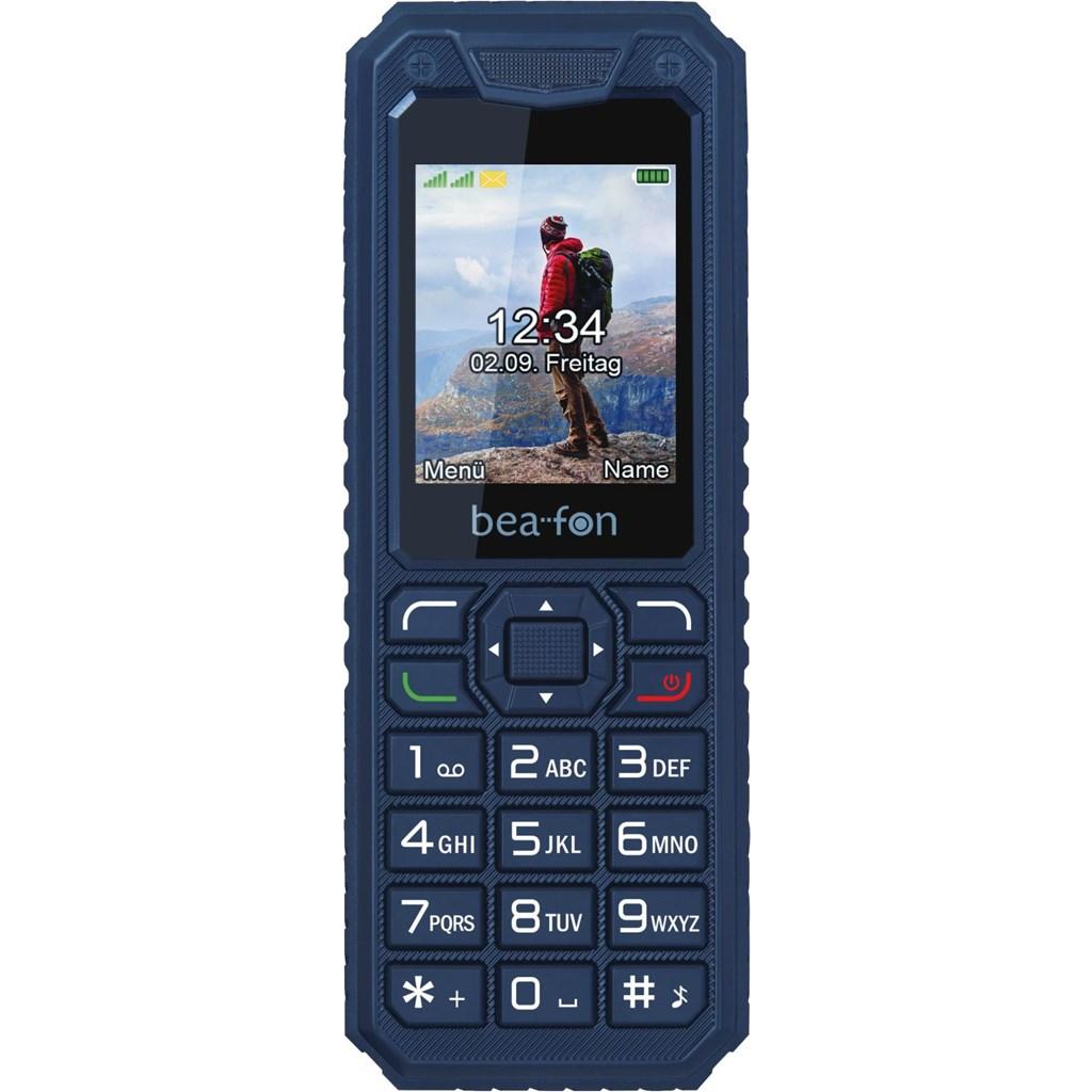 [Talk-Point] Bea-Fon Active Line AL250 - Mobiltelefon - Dual-SIM - microSDHC slot - GSM - 128 x 160 Pixel - TFT - 1,3 MP - Schwarz