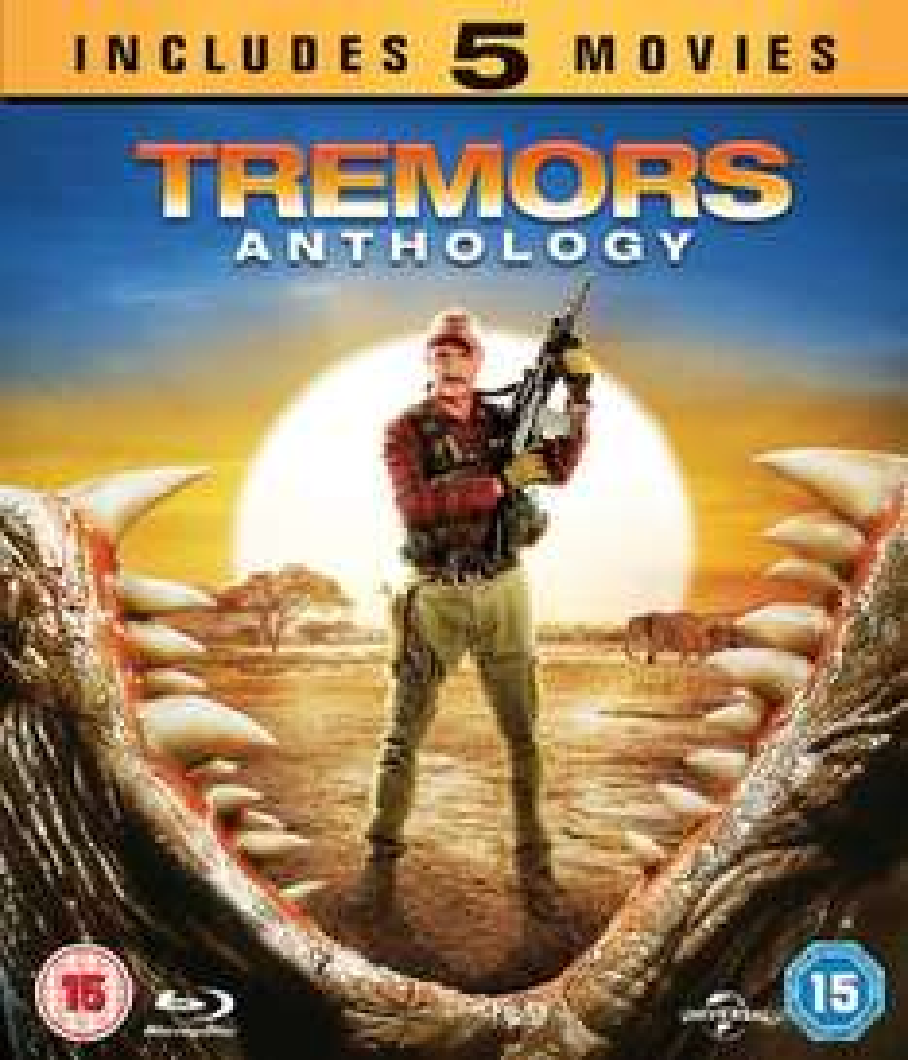 (UK) Tremors Anthology  (Tremors 1-5) Blu-ray für 15.59€ @ Zavvi