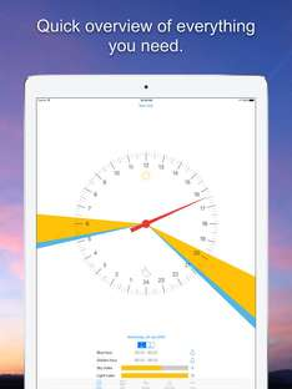 iOS Universal - GoldenHour.One 0,00€ statt 3,99€