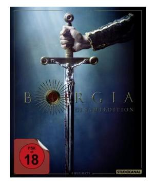 (Thalia) Borgia - Die komplette Serie (Blu-ray) für 31,99€