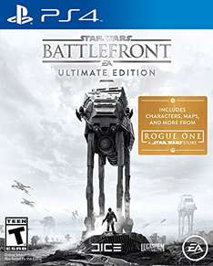 (Amazon.com) Star Wars: Battlefront - Ultimate Edition (PS4) für 25€