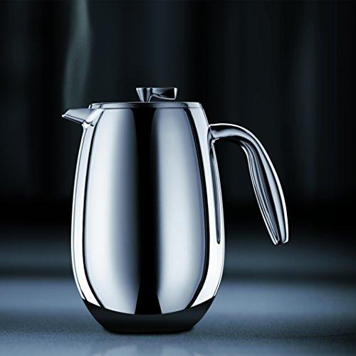 Bodum columbia Kaffeebereiter (Doppelwandig, Edelstahl, Spülmaschinengeeignet, 1,0 liters) glänzend von Bodum