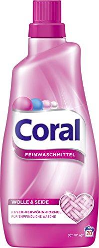 Coral Feinwaschmittel flüssig für 20 WL für 2,95 mit Prime