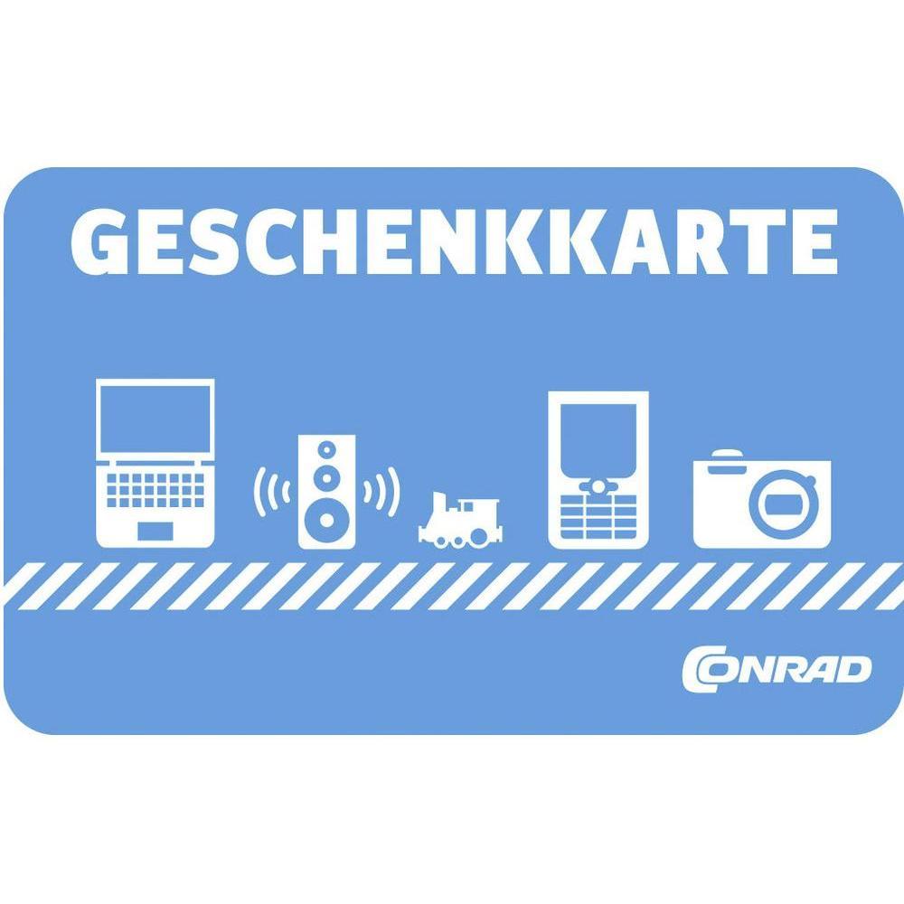 50€-Geschenkkarte kaufen und 10€-Aktionscode kostenlos dazu [Conrad online] oder 50€-Geschenkkarte für 40€ [Conrad offline]